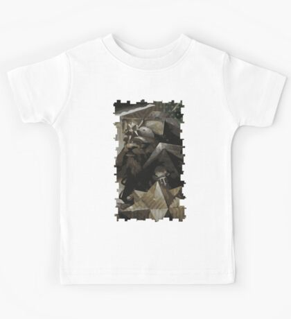 Male Dwarf Tarot Card Kids Tee