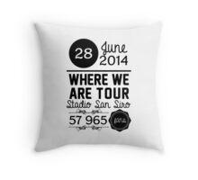 28th June - Stadio San Siro WWAT Throw Pillow