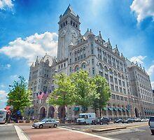 Old Washington Post Office  by Ray Warren