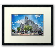 Old Washington Post Office  Framed Print