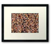 So you wanna fight? Styles666 Framed Print