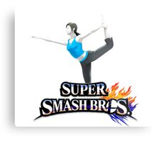 wii fit trainer Metal Print