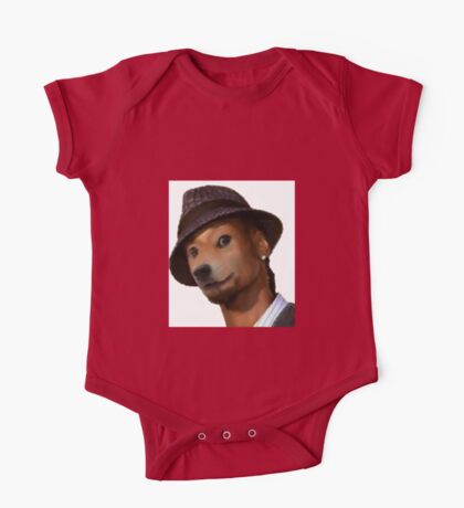 Snoop Doge Oil Paint Style One Piece - Short Sleeve