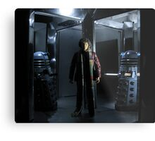 Genesis of the Daleks Metal Print