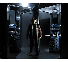 Genesis of the Daleks Photographic Print