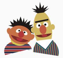 Ernie and Bert One Piece - Short Sleeve
