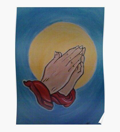 Prayer Hands Poster