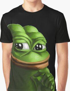 Smug Pepe Graphic T-Shirt