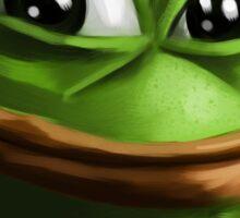 Smug Pepe Sticker