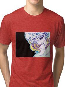 comforting sadness Tri-blend T-Shirt