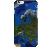 The Blue Marble Next Generation Earth showing Europe. iPhone Case/Skin