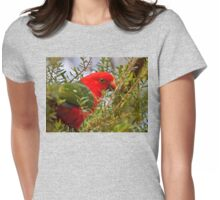 King Parrot Womens Fitted T-Shirt