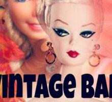 Vintage Barbie Sticker