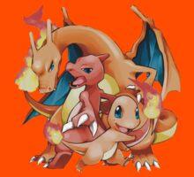 Evolution Charmender - Pokémon by RpFreeMaker