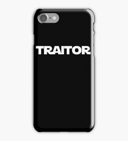 Traitor iPhone Case/Skin