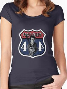 44 Magnum Women's Fitted Scoop T-Shirt