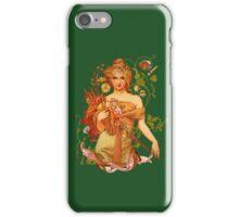 Mucha Floral iPhone Case/Skin