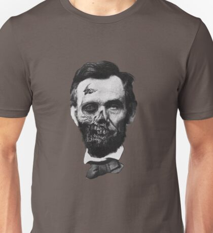 Undead Lincoln Unisex T-Shirt