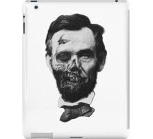 Undead Lincoln iPad Case/Skin