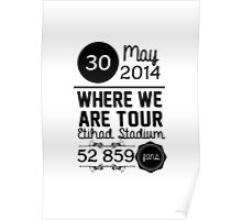 30th may - Eithad Stadium WWAT Poster