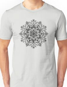Thrive - Monochrome Mandala Unisex T-Shirt