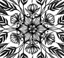 Thrive - Monochrome Mandala Sticker