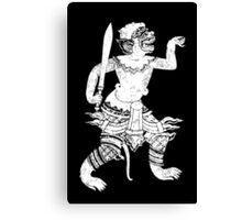 Khmer Dancing  Canvas Print