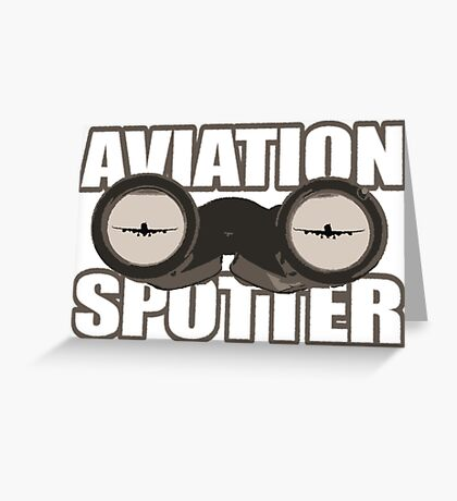 Aviation Spotter 3 Greeting Card