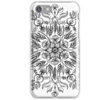 Thrive - Monochrome Mandala iPhone Case/Skin