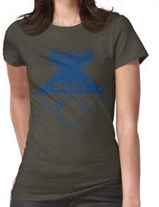 FORT Technologia (blue) Womens Fitted T-Shirt