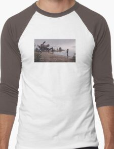 In the mud Men's Baseball ¾ T-Shirt