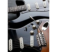 Twin Strats Photographic Print