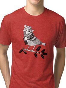 Winter Birdie Tri-blend T-Shirt
