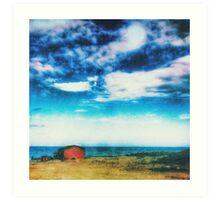 The Red Hut Art Print