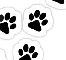 Dog Paw Track Sticker