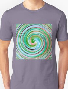 Modern Swirl Abstract Art #5 T-Shirt
