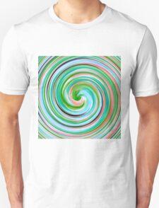 Modern Swirl Abstract Art #5 Unisex T-Shirt