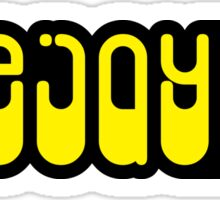 DeeJay Music Quote Sticker