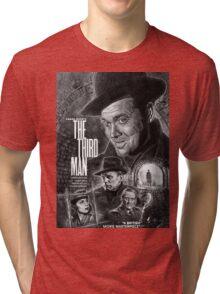 The Third Man poster design Tri-blend T-Shirt
