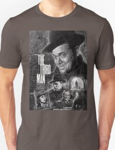 The Third Man poster design Unisex T-Shirt