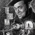 The Third Man poster design by Neil Davies