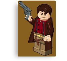 Malcolm Reynolds Minifigure Canvas Print