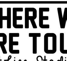 5th august - MetLife Stadium WWAT Sticker