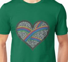 The colors in my rainbow Unisex T-Shirt