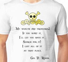 One Piece Gol D. Roger Unisex T-Shirt
