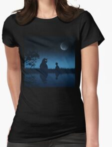 The Friend of the Night Womens Fitted T-Shirt