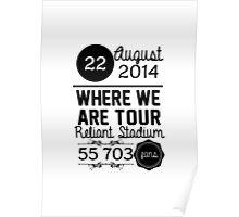 22th august - Reliant Stadium WWAT Poster