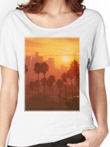 California Sunset  Women's Relaxed Fit T-Shirt