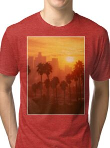 California Sunset  Tri-blend T-Shirt