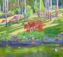 Tamborine Mountain Botanical Gardens ,Early Spring by Virginia McGowan